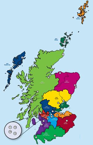 Map Of Uk Hospitals.The Scottish Trauma Audit Group Stag